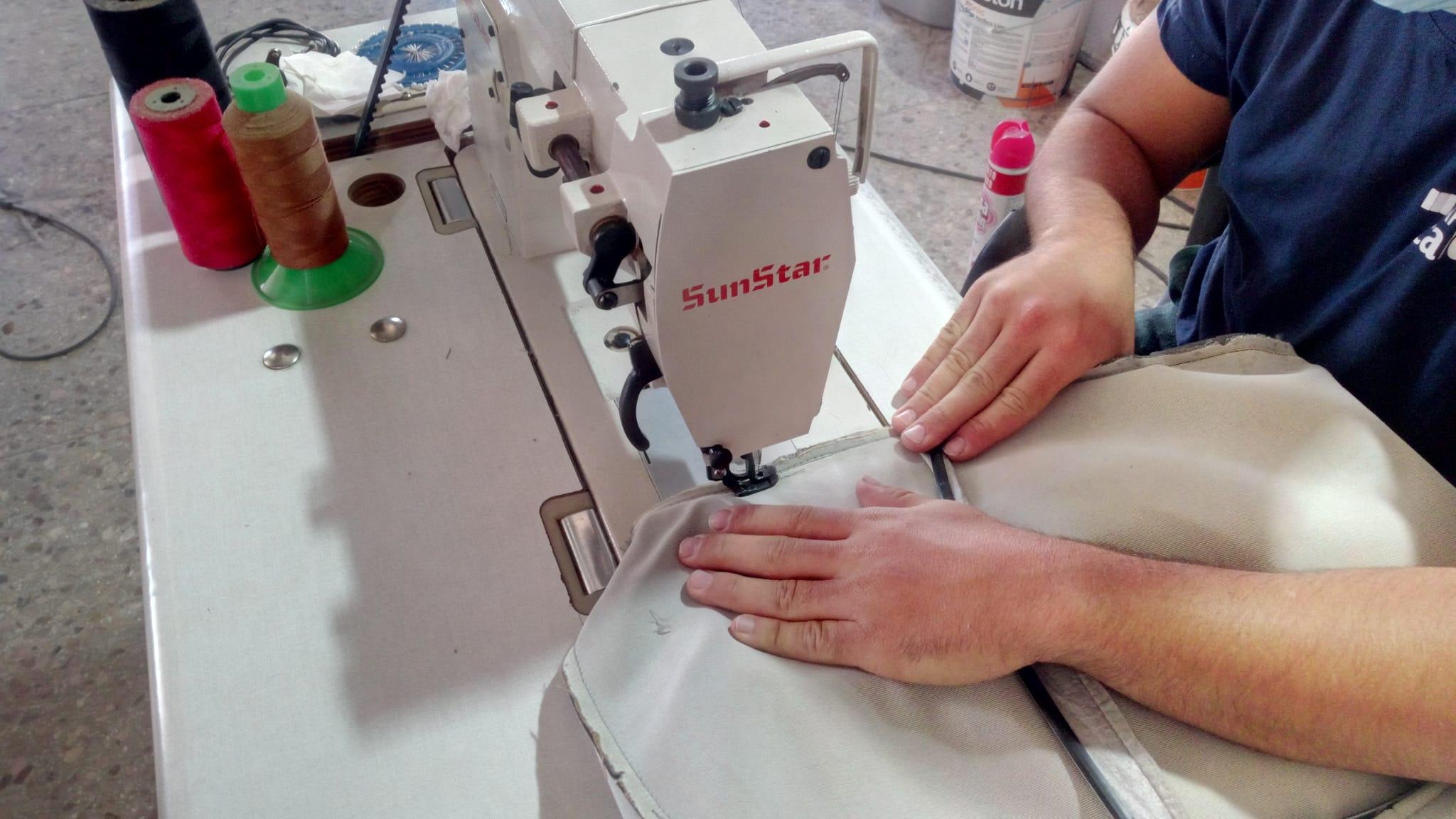 Taller de tapicería en Cáceres Caldito