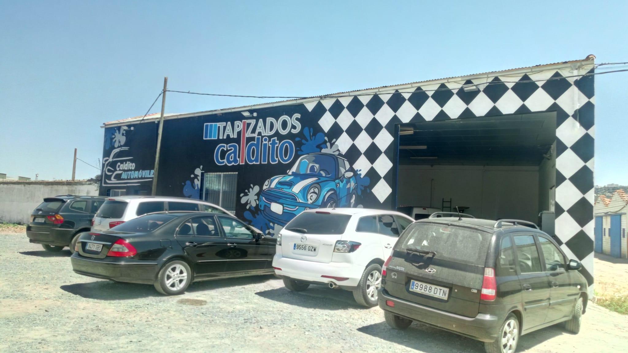 Tapicería en Cáceres Caldito